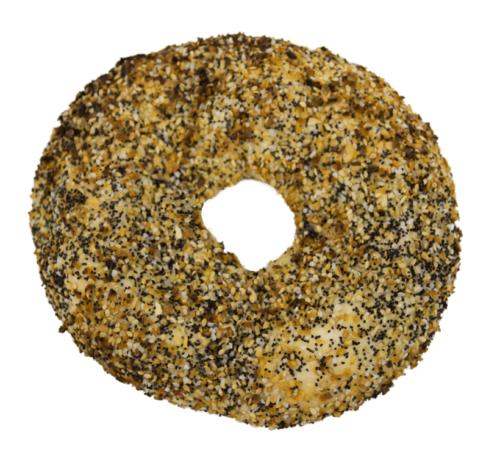 Bagel Biz Whole Wheat Everything Flayguls