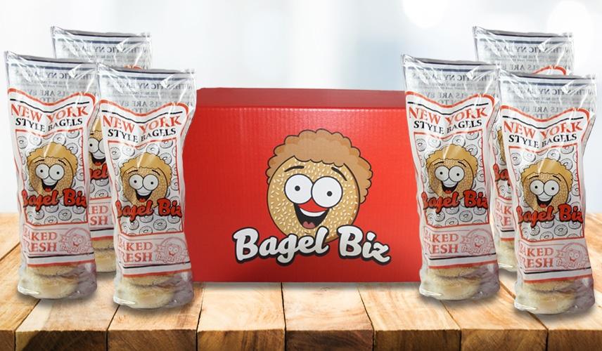 3 Dozen Bagels Package - Bagel Biz