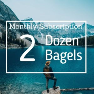 2 Dozen Dozen Bagel Subscription Box