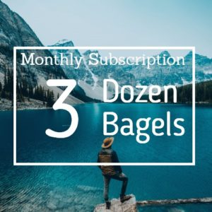 3 Dozen Dozen Bagel Subscription Box