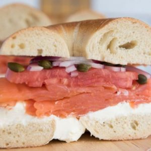 Bagel Biz 1/2 LB Nova Lox, NY Bagels, Cream Cheese